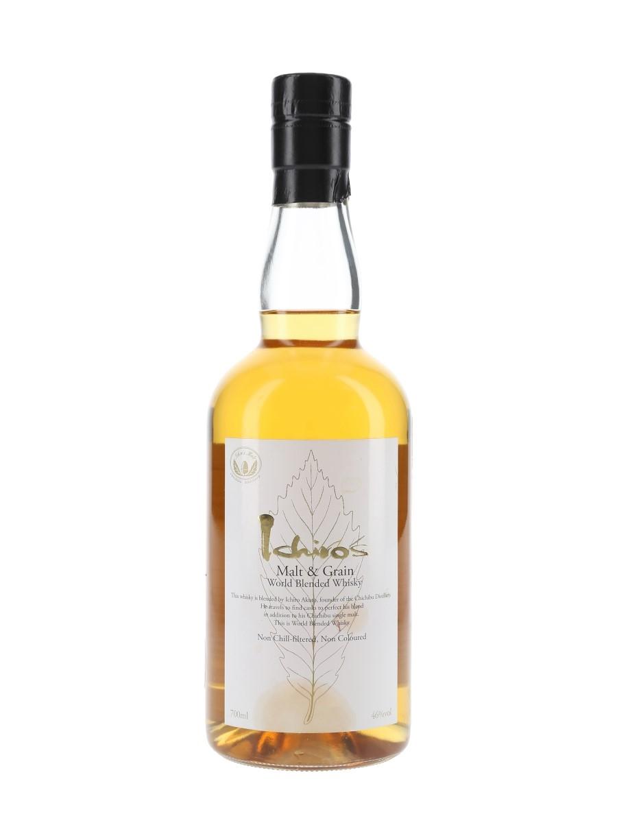 Ichiro's Malt & Grain World Blended Whisky 70cl / 46%