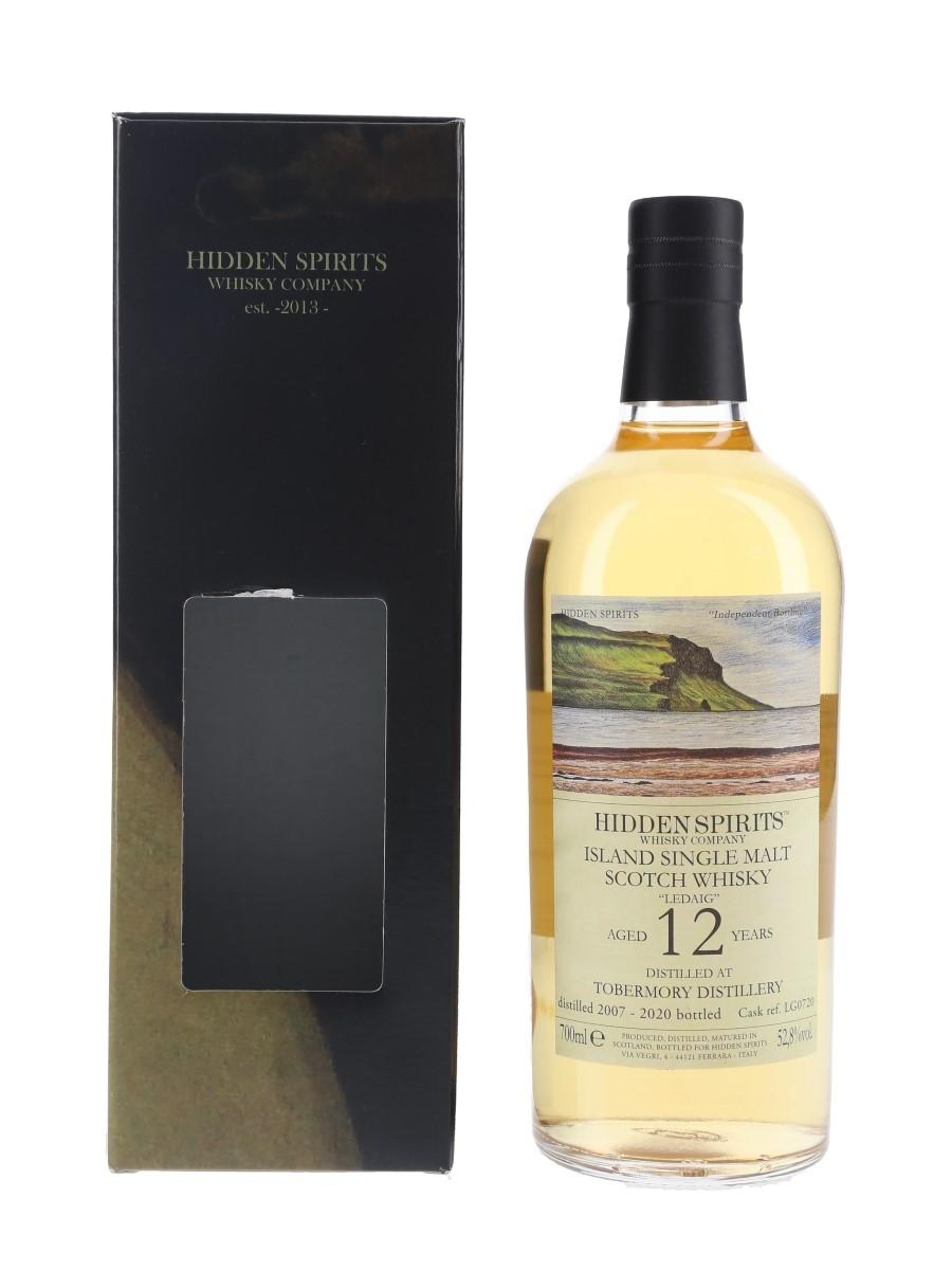Ledaig 2007 12 Year Old Cask LG0720 Bottled 2020 - Hidden Spirits 70cl / 52.8%
