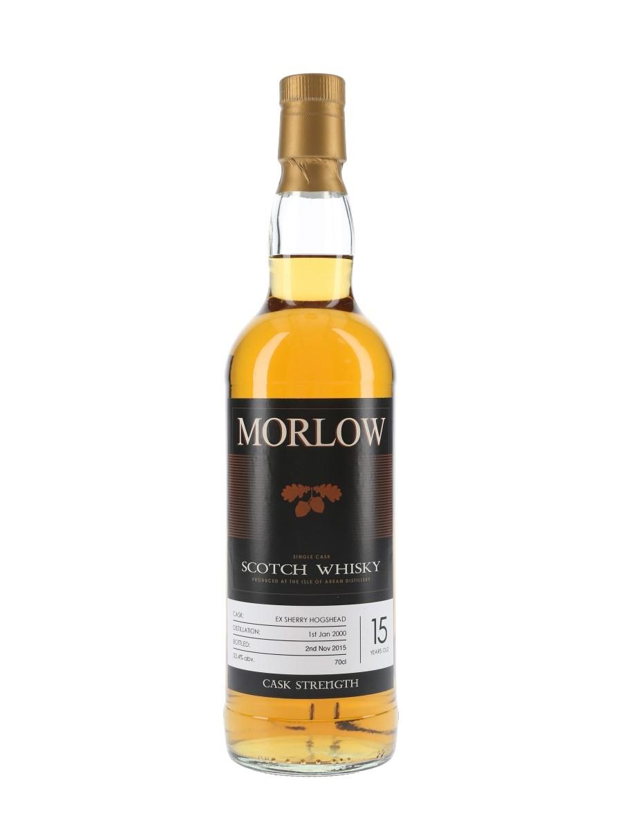 Arran 2000 15 Year Old Morlow Private Cask Bottled 2015 - Sherry Hogshead 70cl / 53.4%