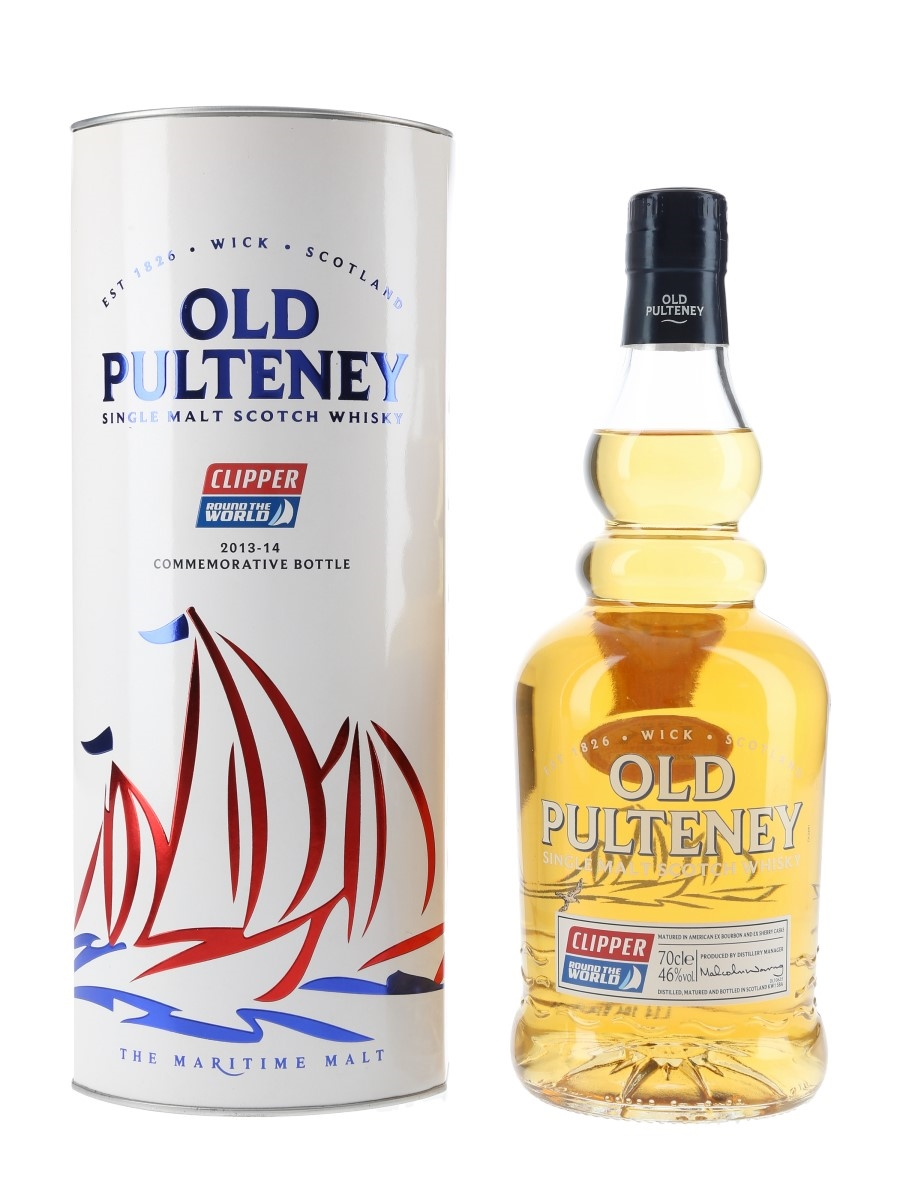 Old Pulteney Clipper Round The World 70cl / 46%