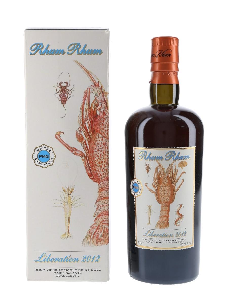 Rhum Rhum Liberation 2012 Capovilla - Velier 70cl / 45%