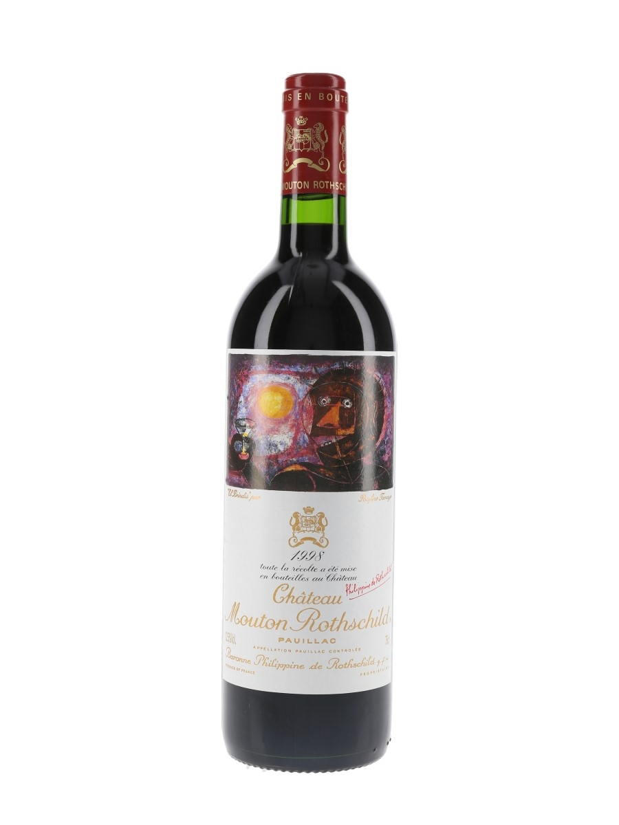 Chateau Mouton Rothschild 1998 Premier Grand Cru Classe - Pauillac 75cl / 12.5%
