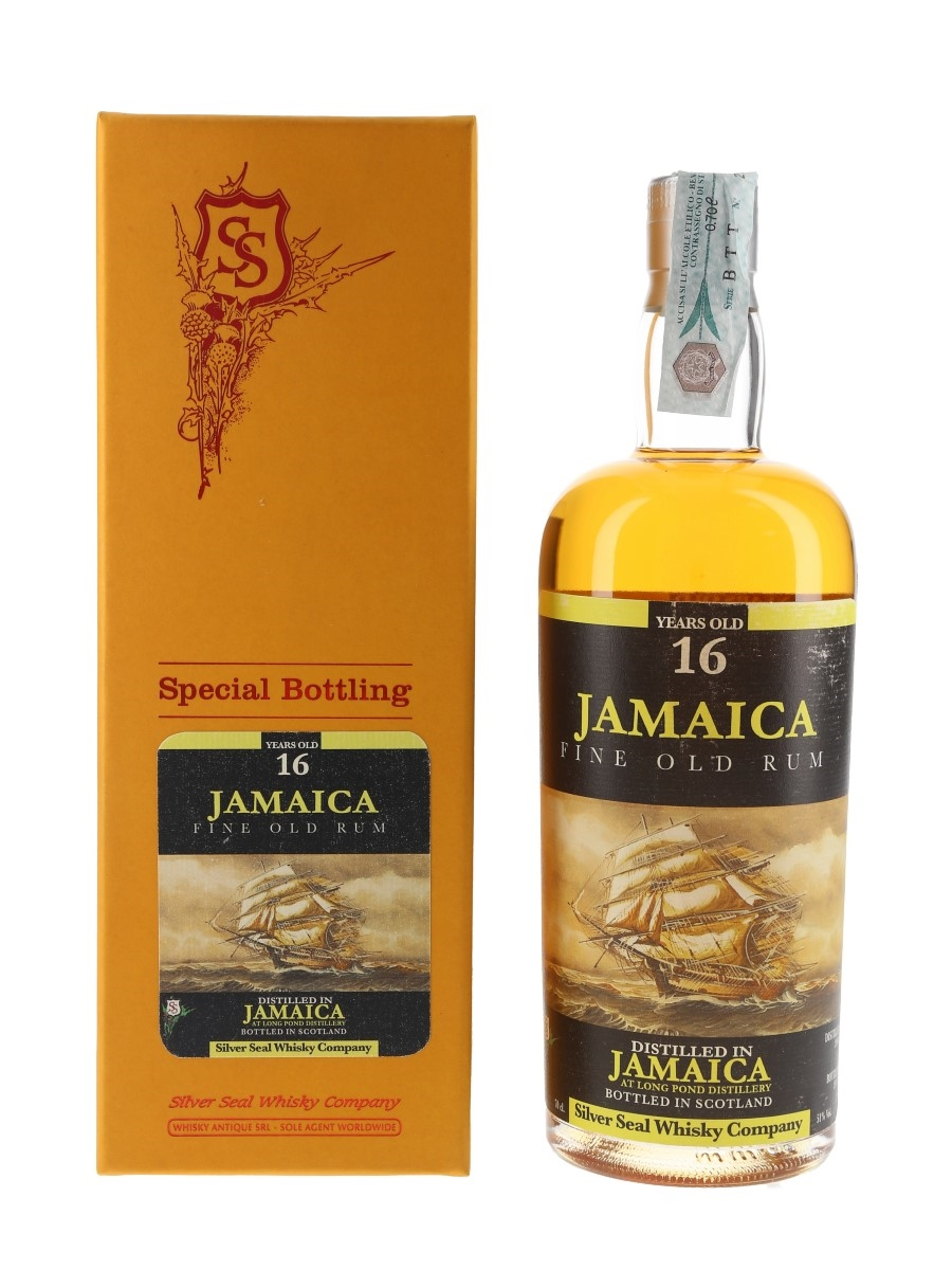 Long Pond 2000 16 Year Old Jamaica Rum Bottled 2016 - Silver Seal 70cl / 51%