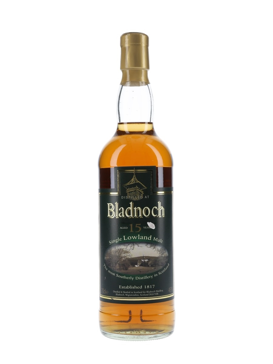 Bladnoch 15 Year Old  70cl / 46%