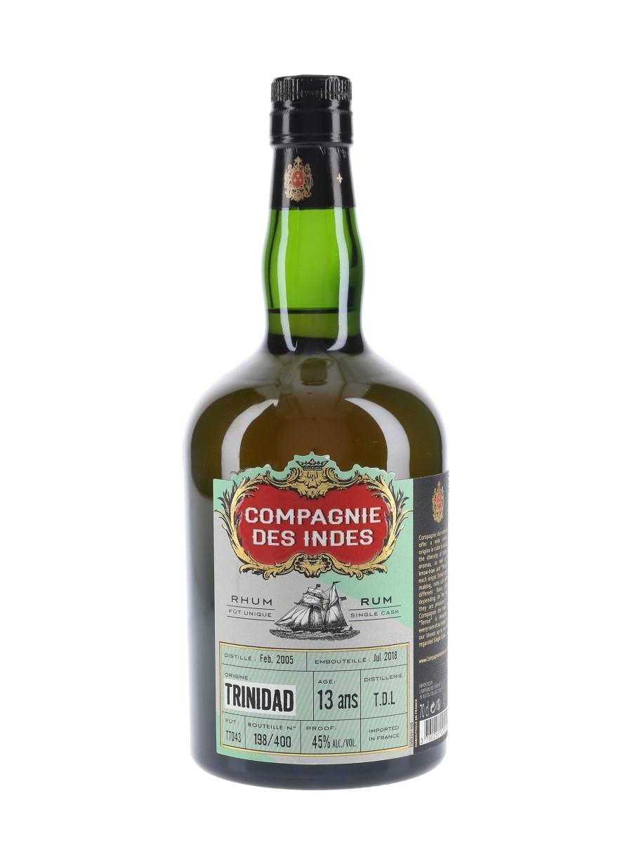 Compagnie Des Indes 2005 13 Year Old Bottled 2018 - Trinidad Distillers Limited 70cl / 45%