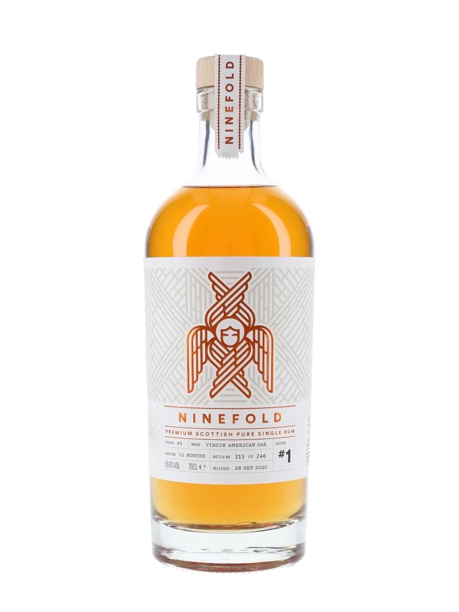 Ninefold Scottish Pure Single Rum Edition #1 Bottled 2020 70cl / 59.6%