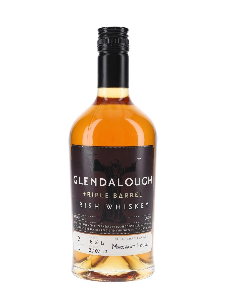 Glendalough Triple Barrel Batch 2 Bottled 2017 - Bottle No. 6 of 6 For Merchant House 70cl / 42%