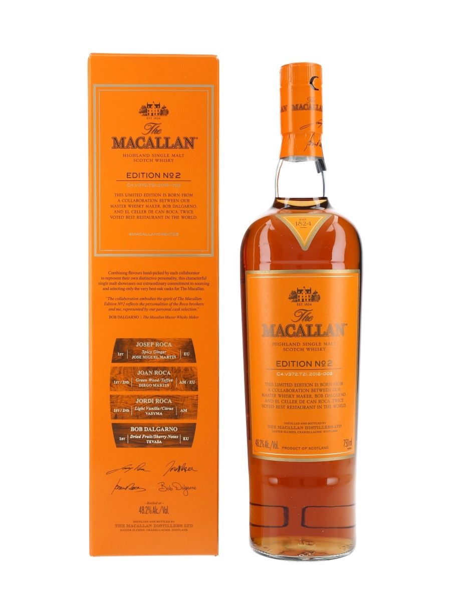 Macallan Edition No.2  75cl / 48.2%