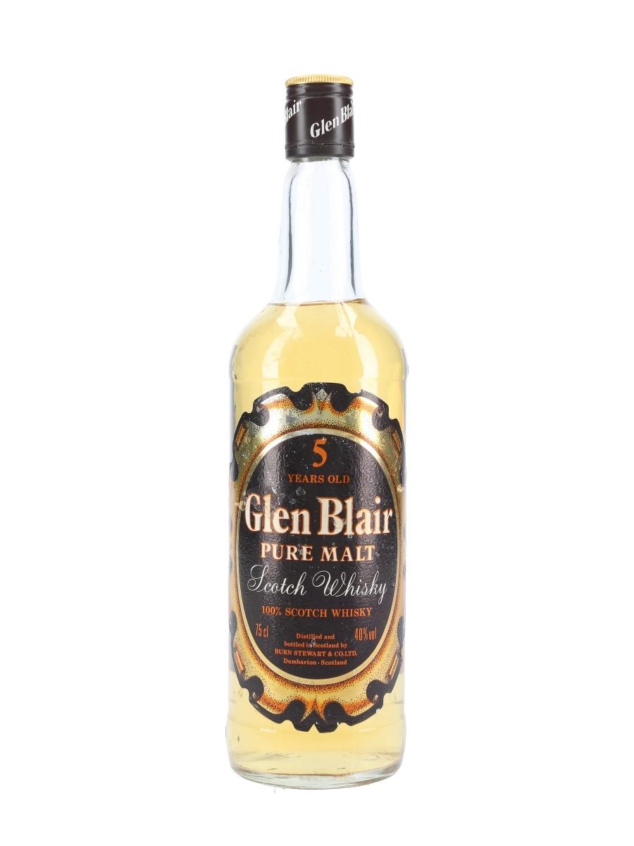 Glen Blair 5 Year Old Bottled 1980s - Gussago 75cl / 40%