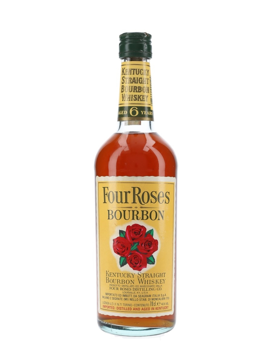 Four Roses 6 Year Old Bottled 1990s - Seagram 70cl / 40%
