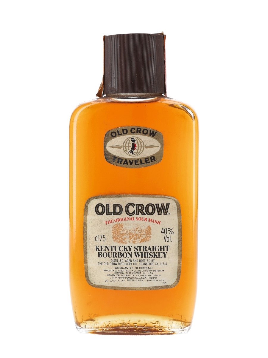 Old Crow Traveler Bottled 1980s - Pedro Domecq 75cl / 40%
