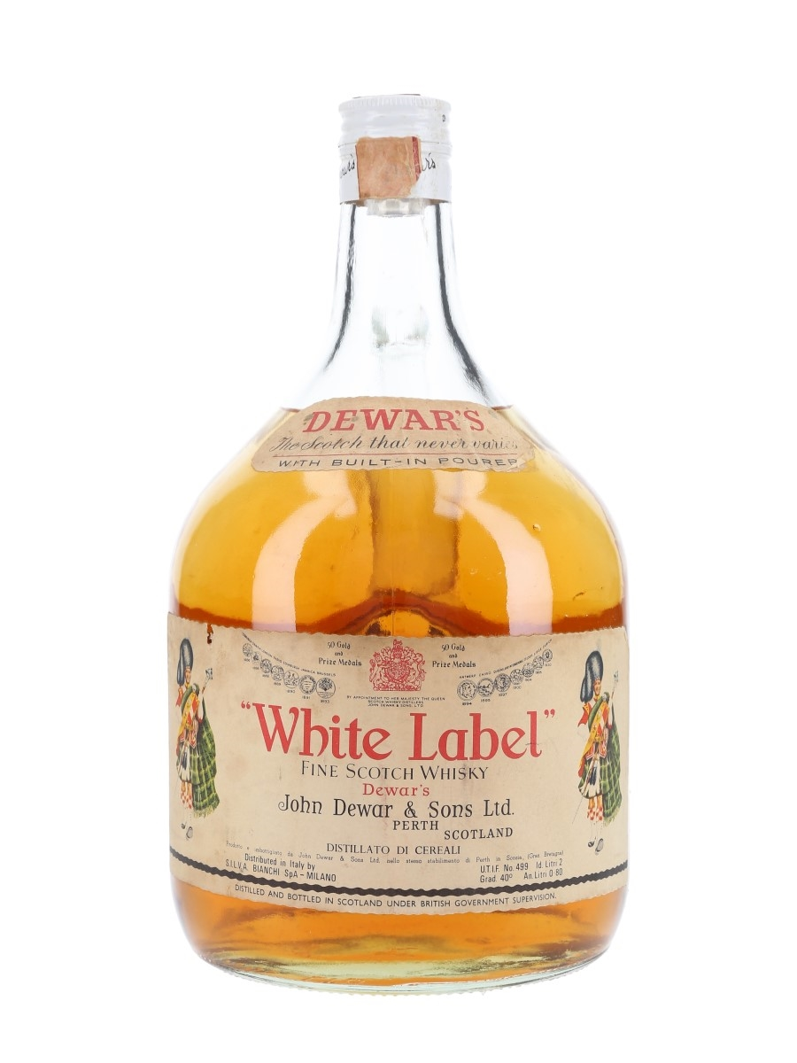 Dewar's White Label Bottled 1970s - Bianchi - Large Format 200cl / 40%