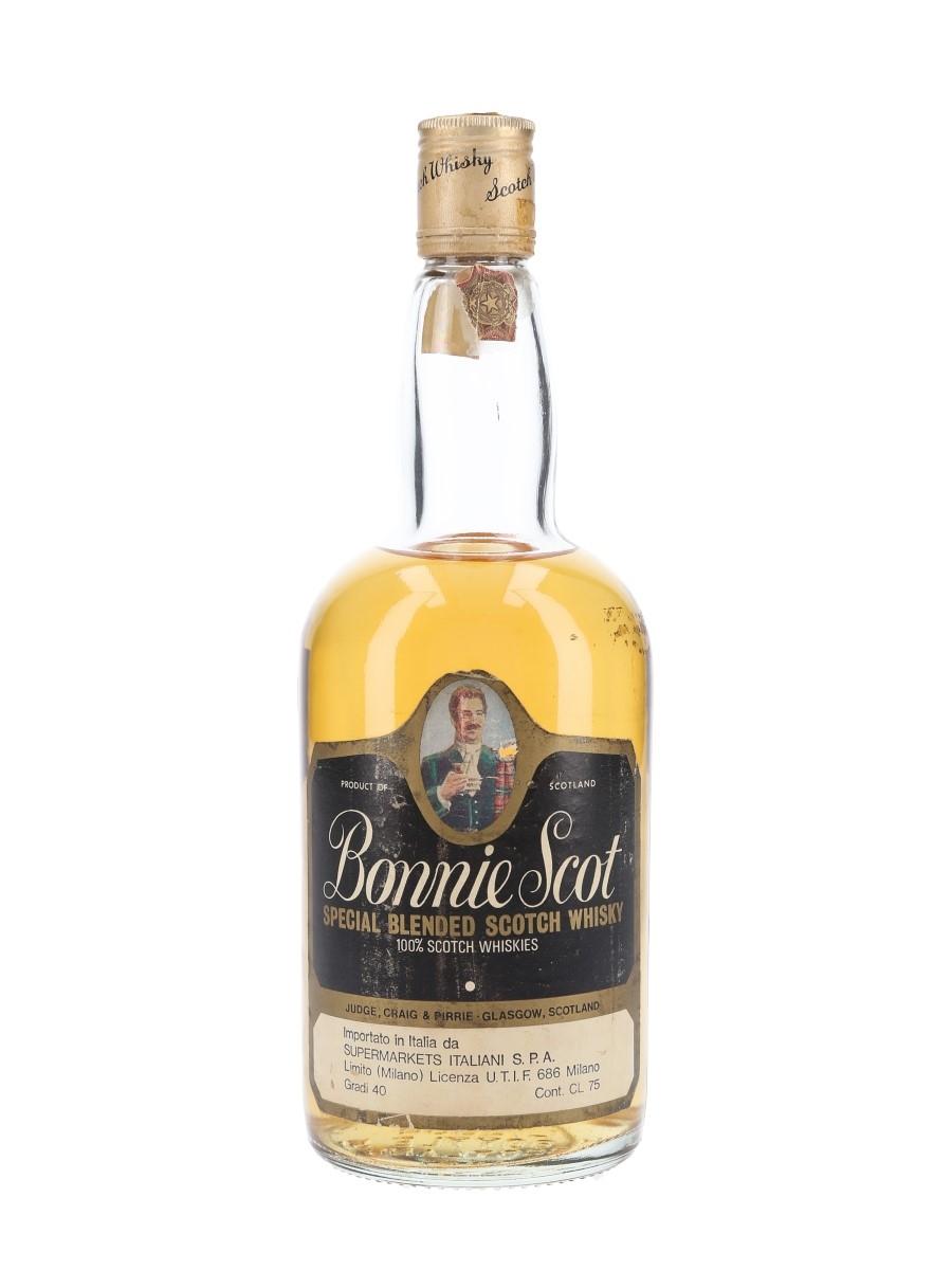 Bonnie Scot Bottled 1980s - Supermarkets Italiani 75cl / 40%