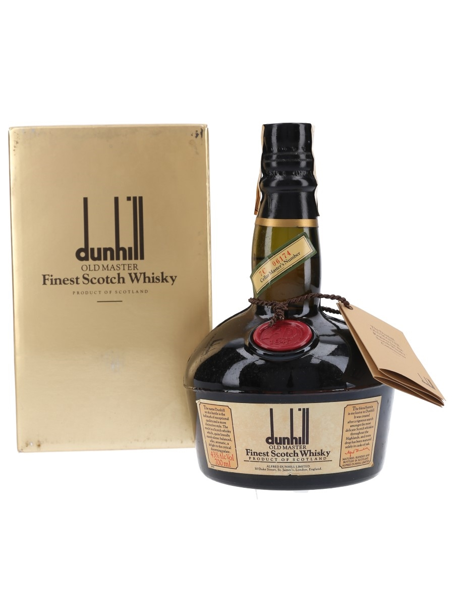 Dunhill Old Master Finest Scotch Whisky  70cl / 43%