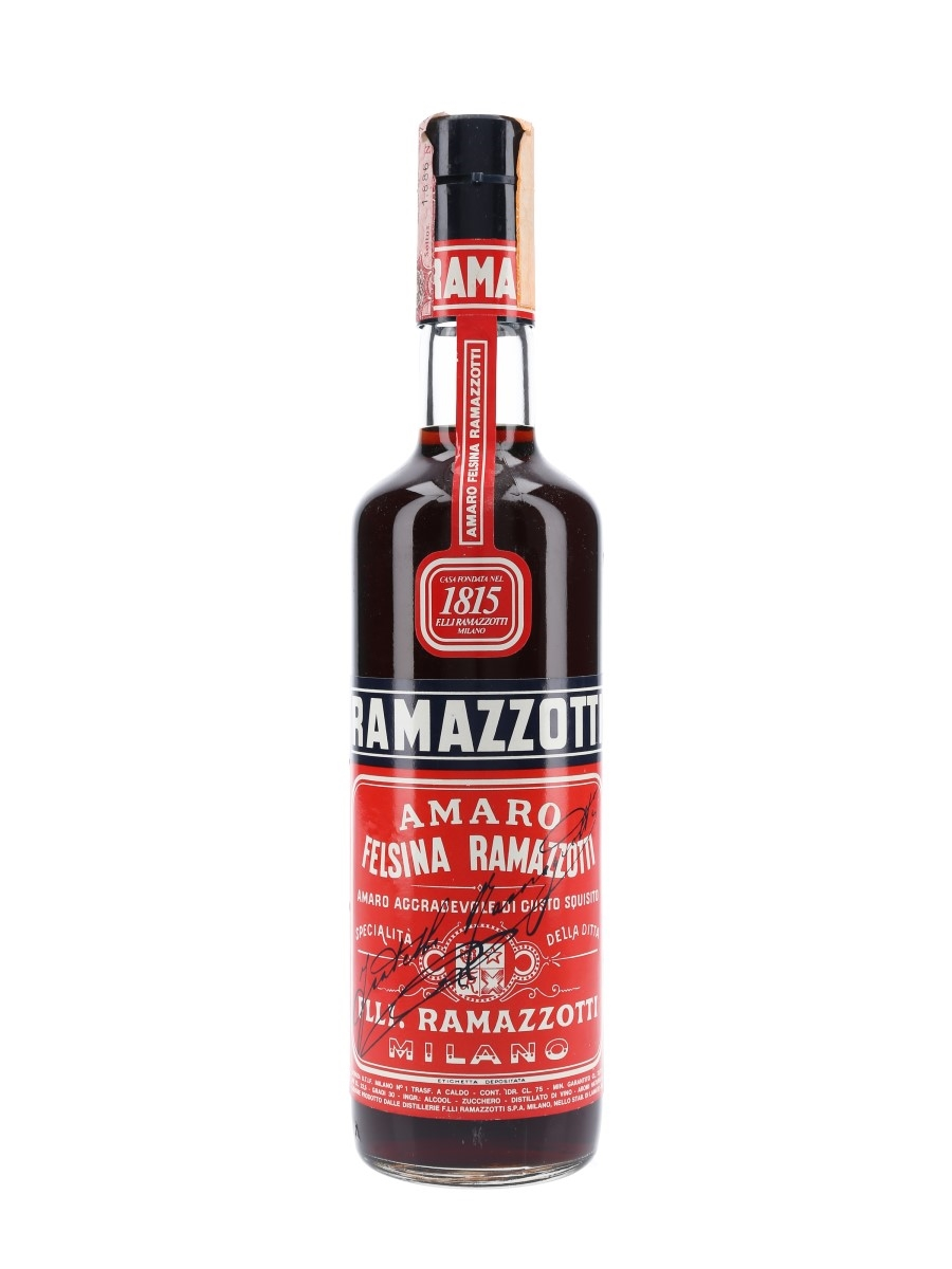 Ramazzotti Amaro Bottled 1970s 75cl / 30%