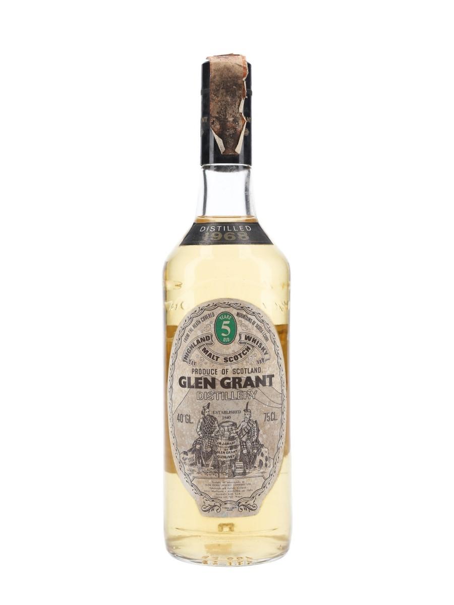 Glen Grant 1968 5 Year Old Giovinetti 75cl / 40%