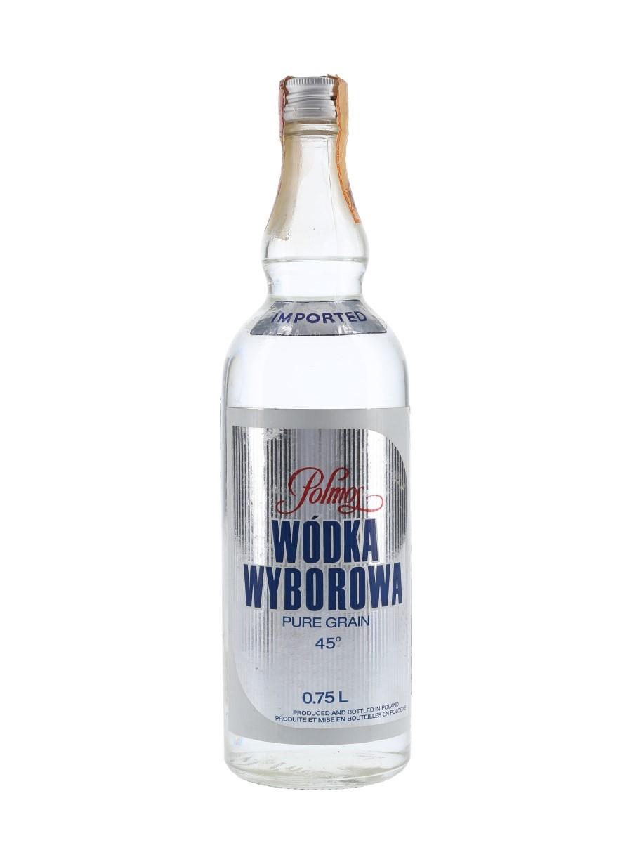 Polmos Wodka Wyborowa Bottled 1970s - Rinaldi 75cl / 45%