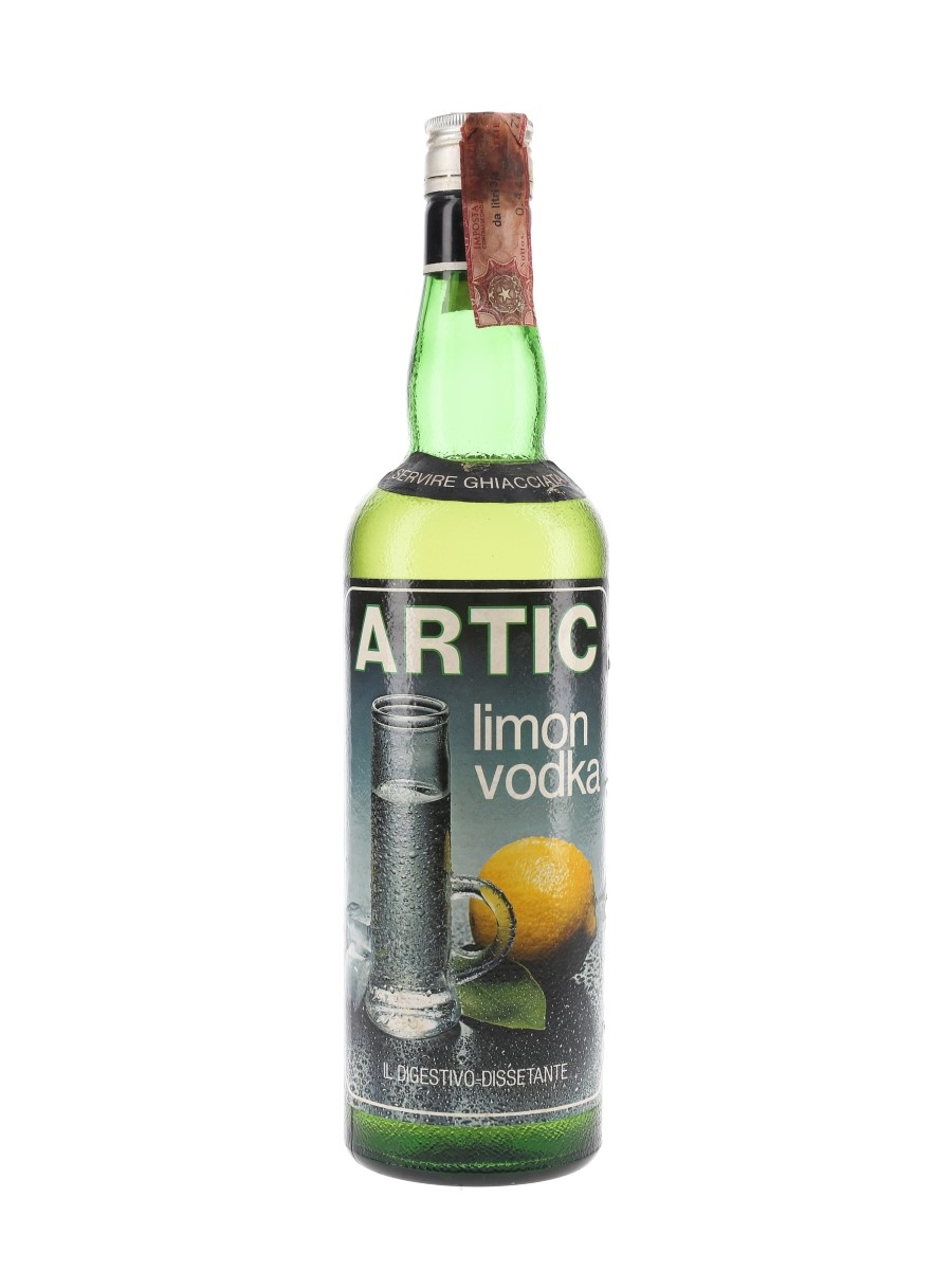 Artic Vodka Limon Bottled 1970s 75cl / 32%