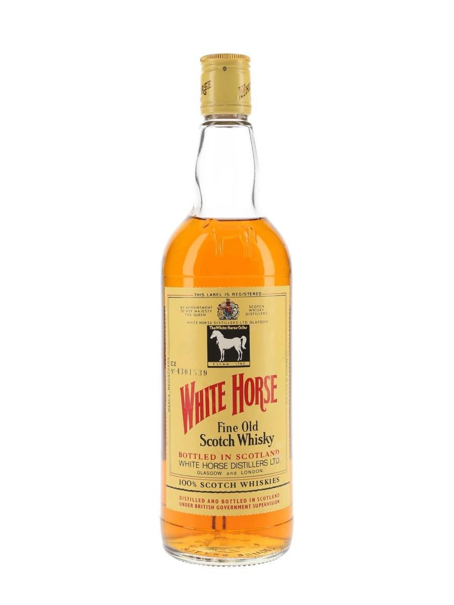 White Horse Bottled 1970s 75cl