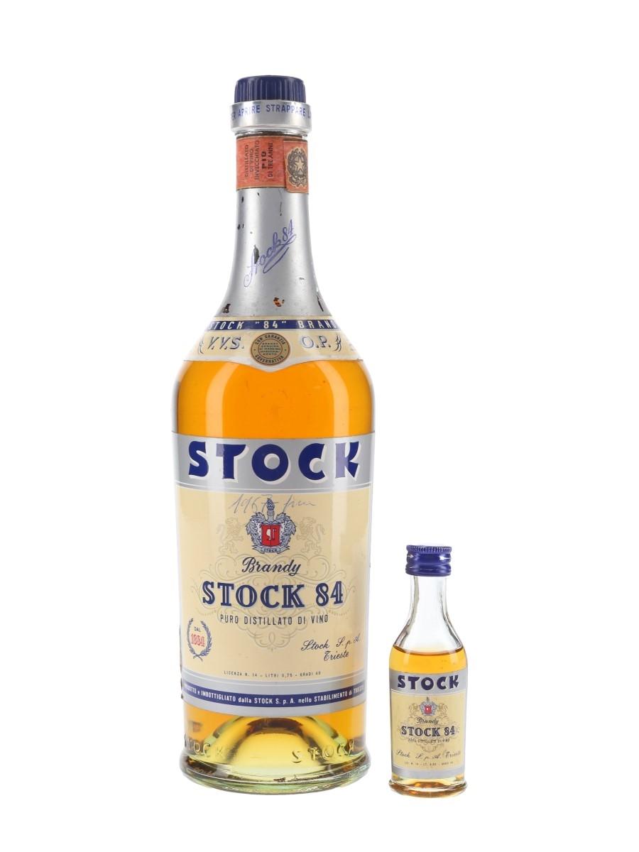 Stock 84 VVSOP Bottled 1960s-1970s - Numbered Bottle 3cl & 75cl / 40%