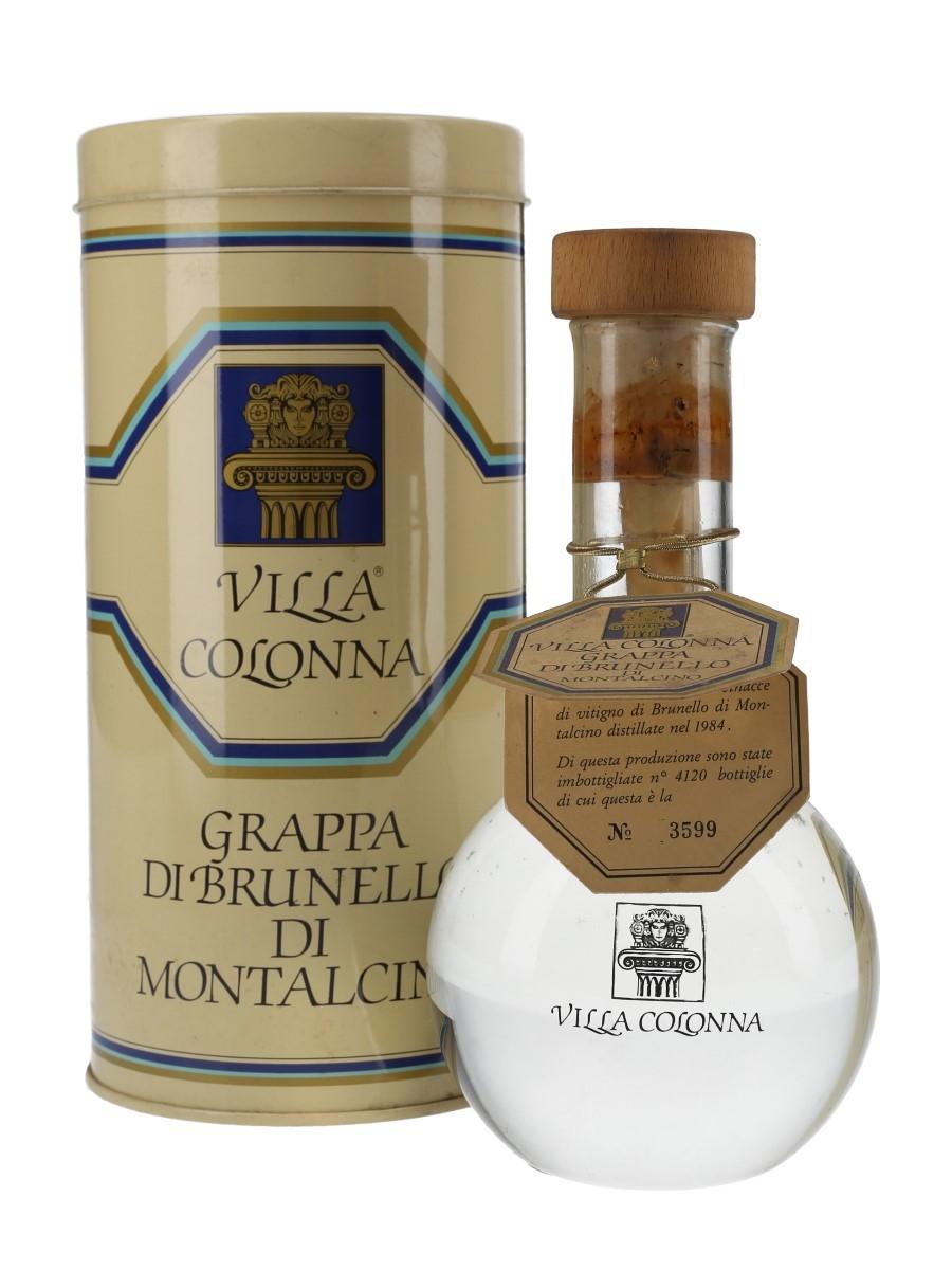 Villa Colonna 1984 Grappa Di Brunello Di Montalcino  50cl / 48%