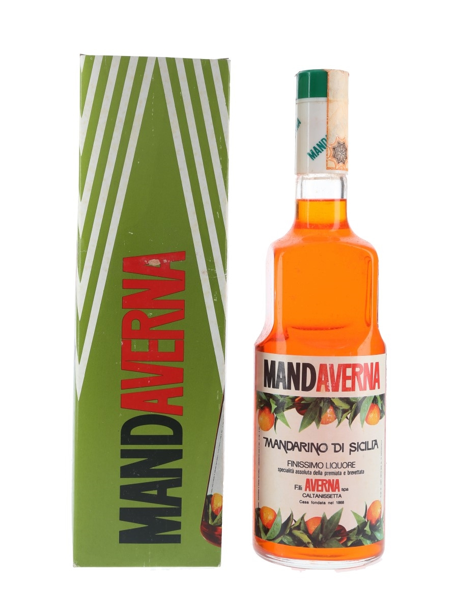 Mandaverna Mandarino Di Sicilia Bottled 1960s-1970s 75cl / 40%