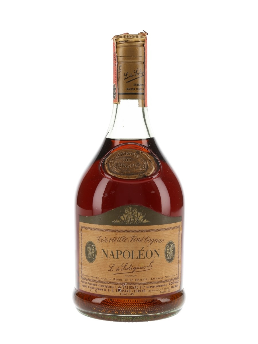 Salignac Reserve De L'Aiglon Napoleon Bottled 1970s - Carpano 75cl / 40%