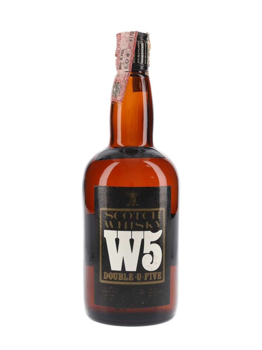 W5 Scotch Whisky Bottled 1980s - Buton 75cl / 40%