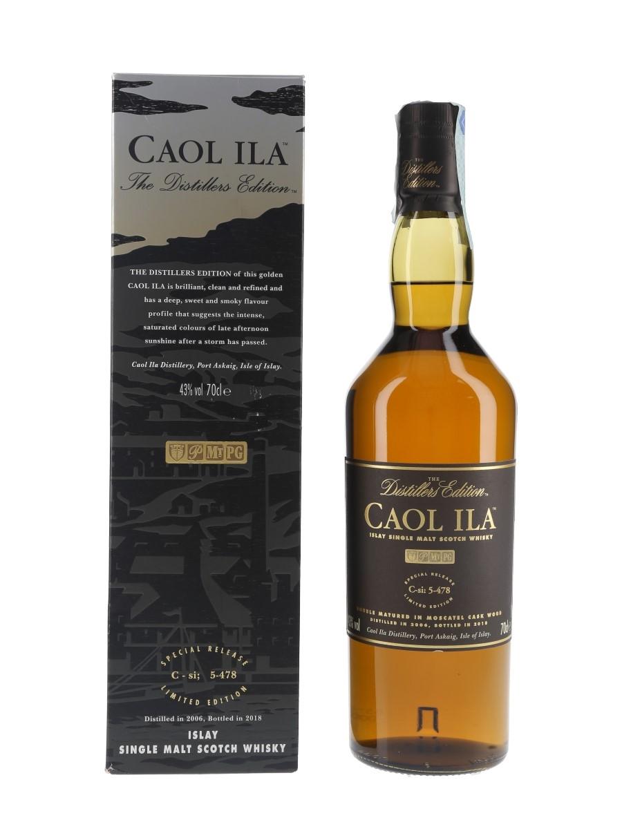 Caol Ila 2006 Distillers Edition Bottled 2018 70cl / 43%
