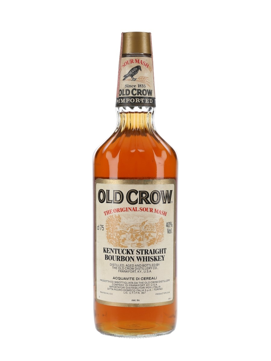 Old Crow Bottled 1980s - Pedro Domecq 75cl / 40%