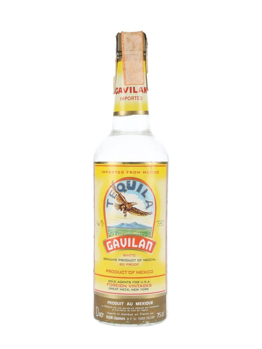 Gavilan White Tequila Bottled 1970s 75cl / 40%