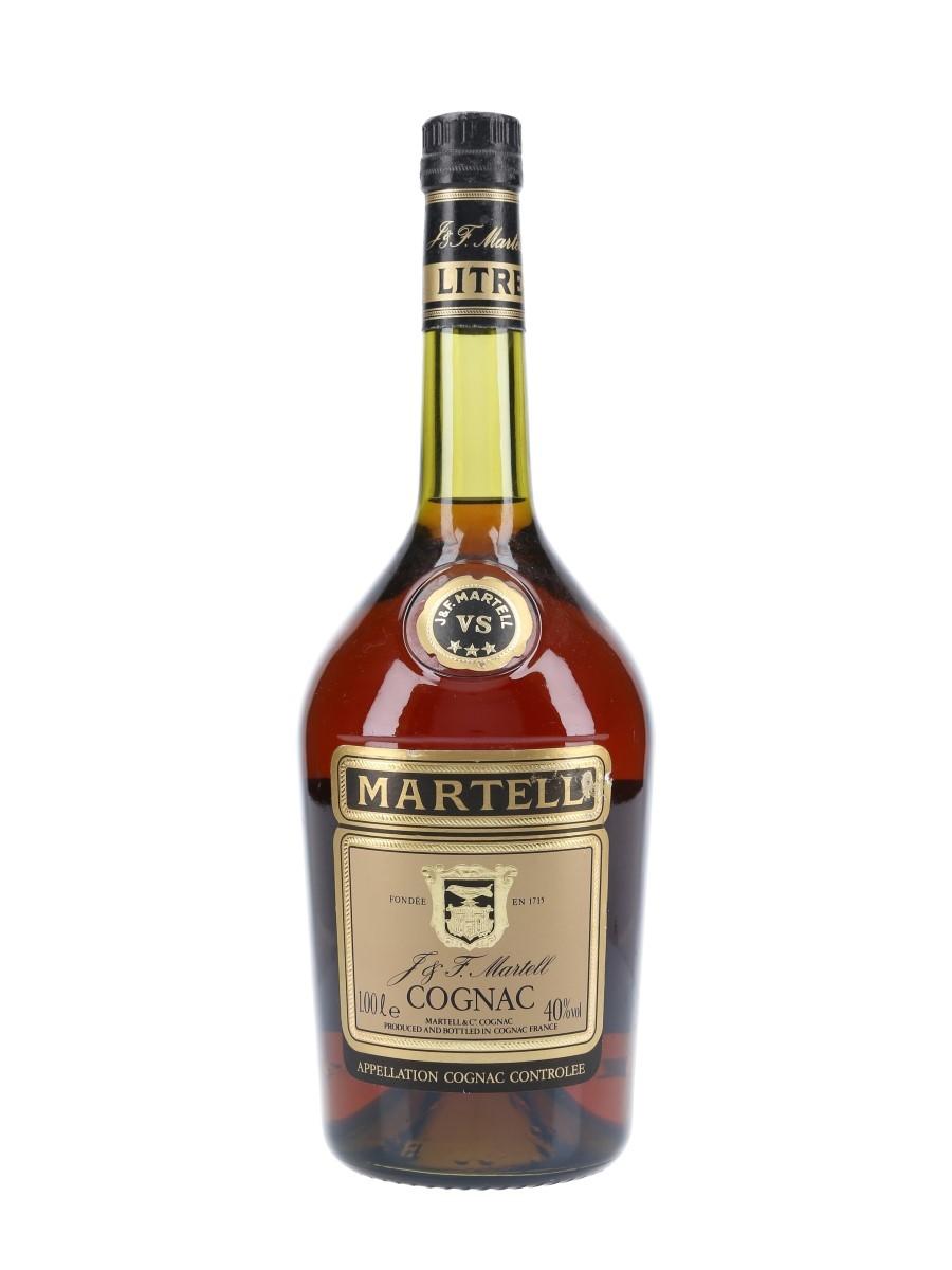 Martell 3 Star VS Bottled 1980s 100cl / 40%