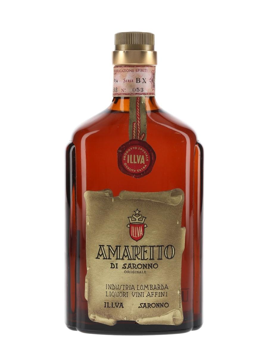 Illva Amaretto Di Saronno Bottled 1970s 75cl / 28%