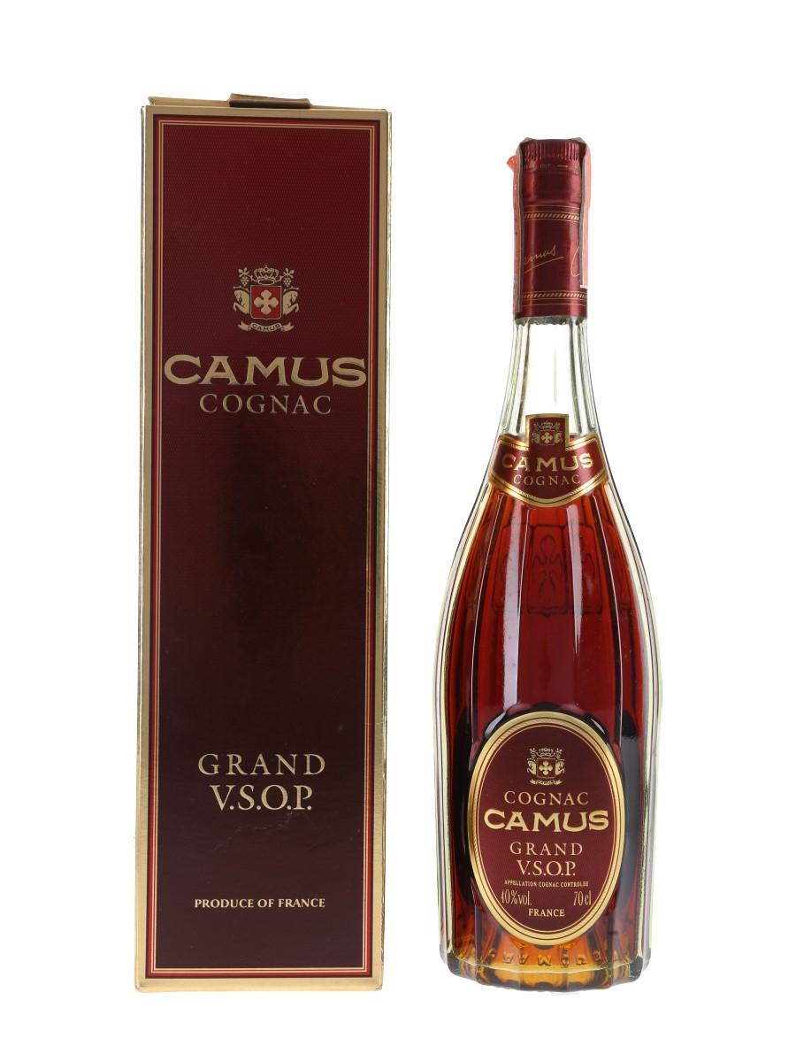 Camus Grand VSOP Bottled 1980s - Carpano 70cl / 40%