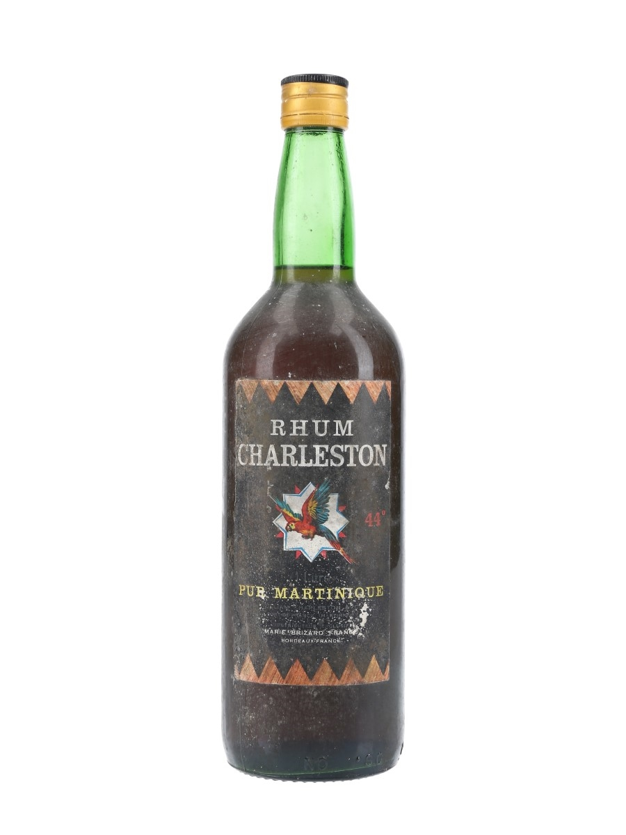 Rhum Charleston Bottled 1960s-1970s - Marie Brizard 100cl / 44%