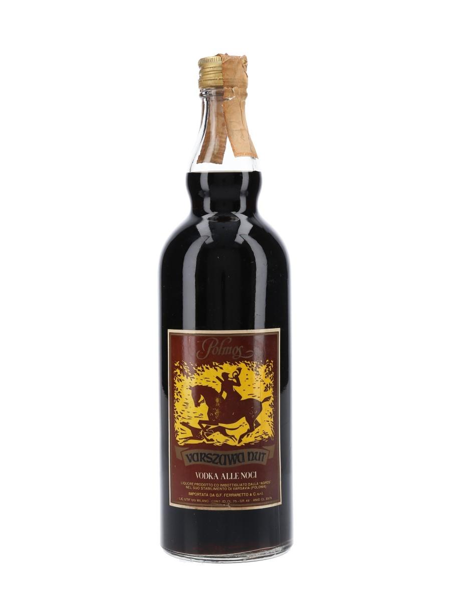Polmos Varszawa Nut Bottled 1970s - Ferraretto 75cl / 45%
