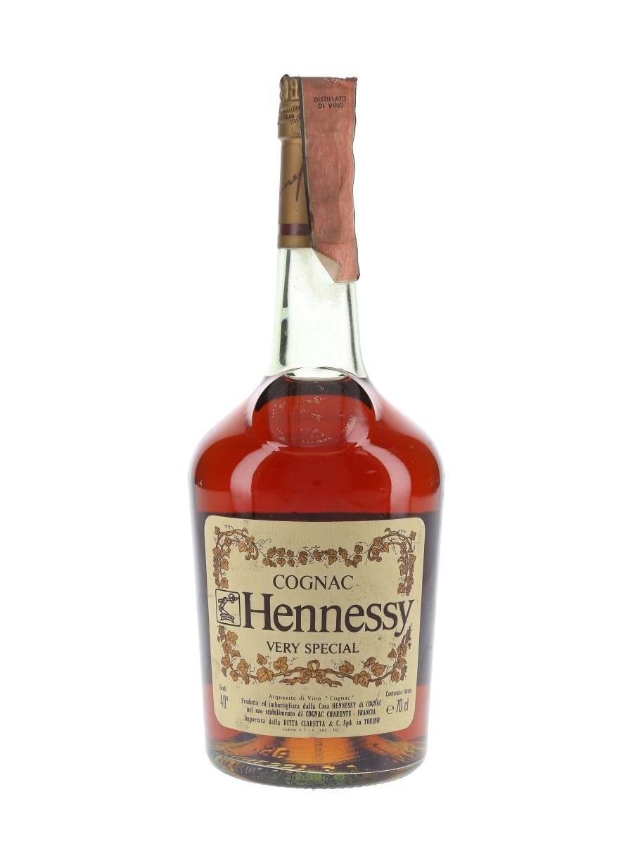 Hennessy Very Special Bottled 1980s - Claretta 70cl / 40%