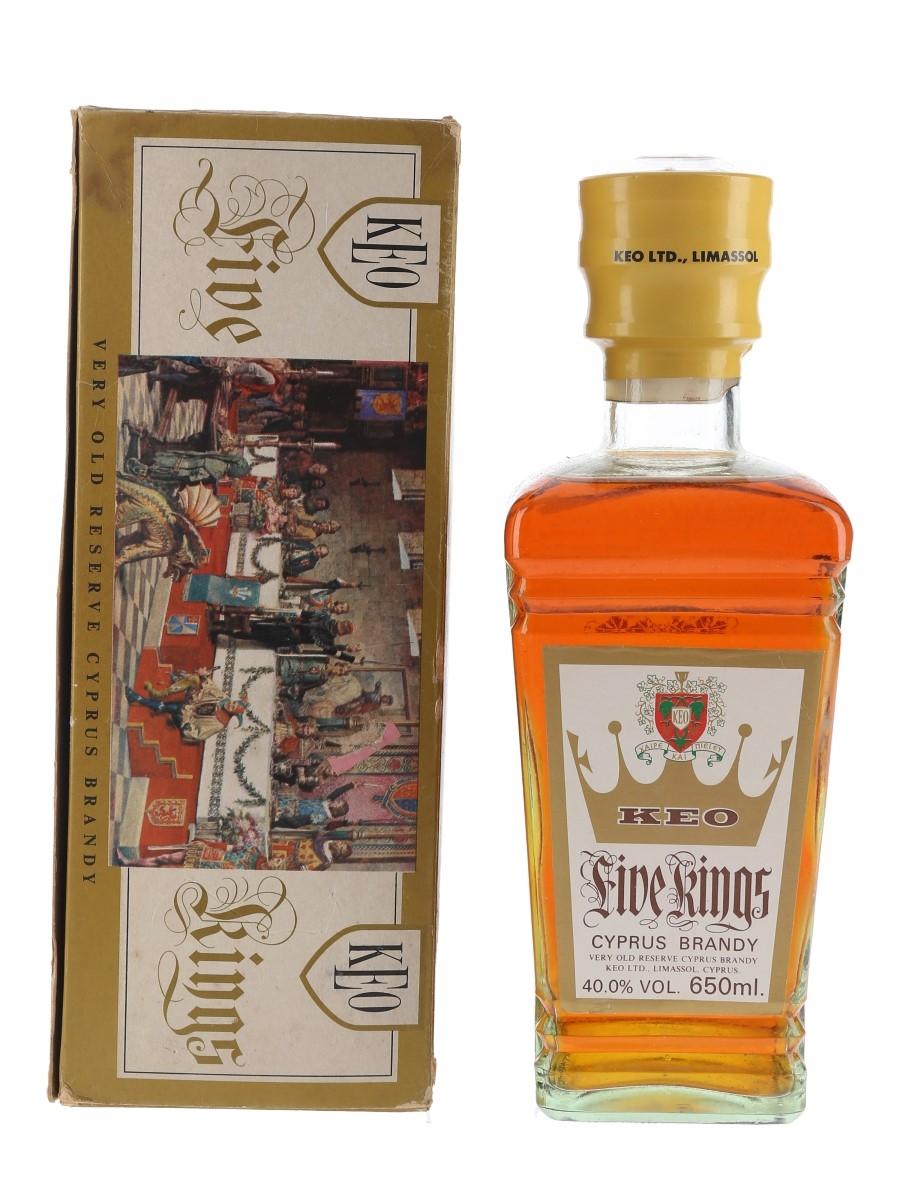 Keo Five Kings Bottled 1980s 65cl / 40%