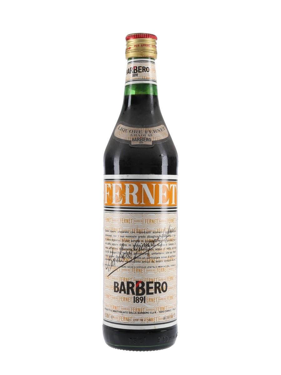 Barbero Fernet Bottled 1980s 75cl / 45%