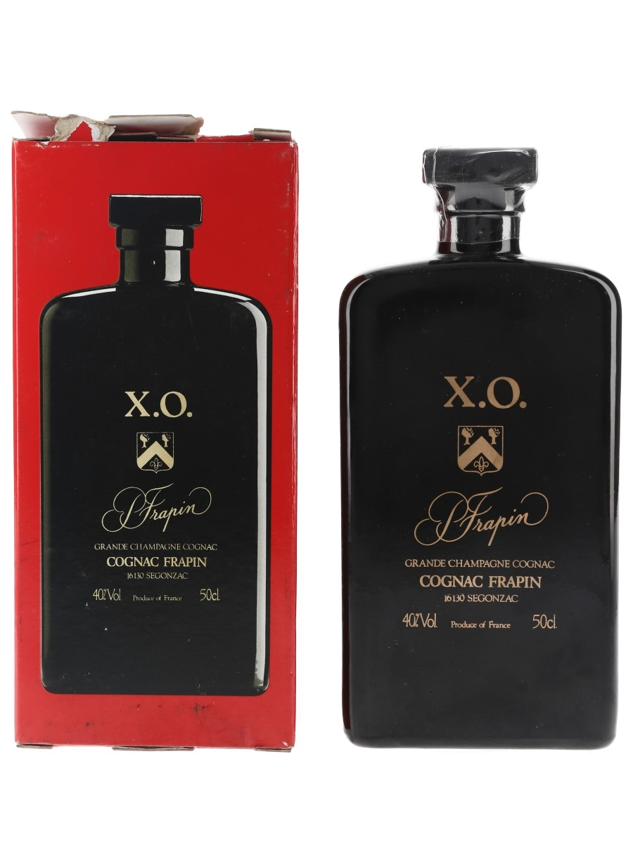Frapin XO Grande Champagne Cognac Dominos Bottled 1980s 50cl / 40%