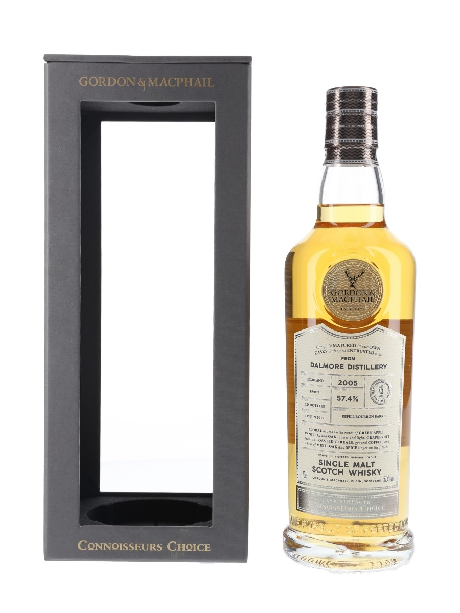 Dalmore 2005 13 Year Old Connoisseurs Choice Bottled 2019 70cl / 57.4%