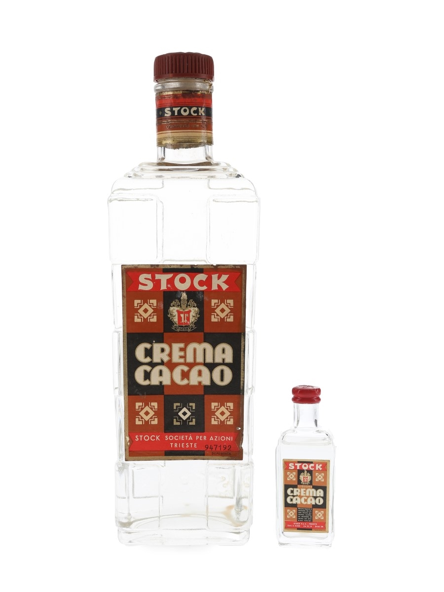 Stock Crema Cacao Bottled 1950s 3cl & 75cl / 28%