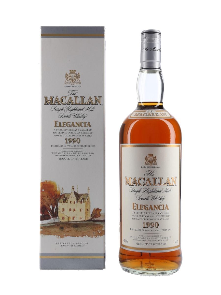 Macallan 1990 Elegancia Bottled 2002 100cl / 40%