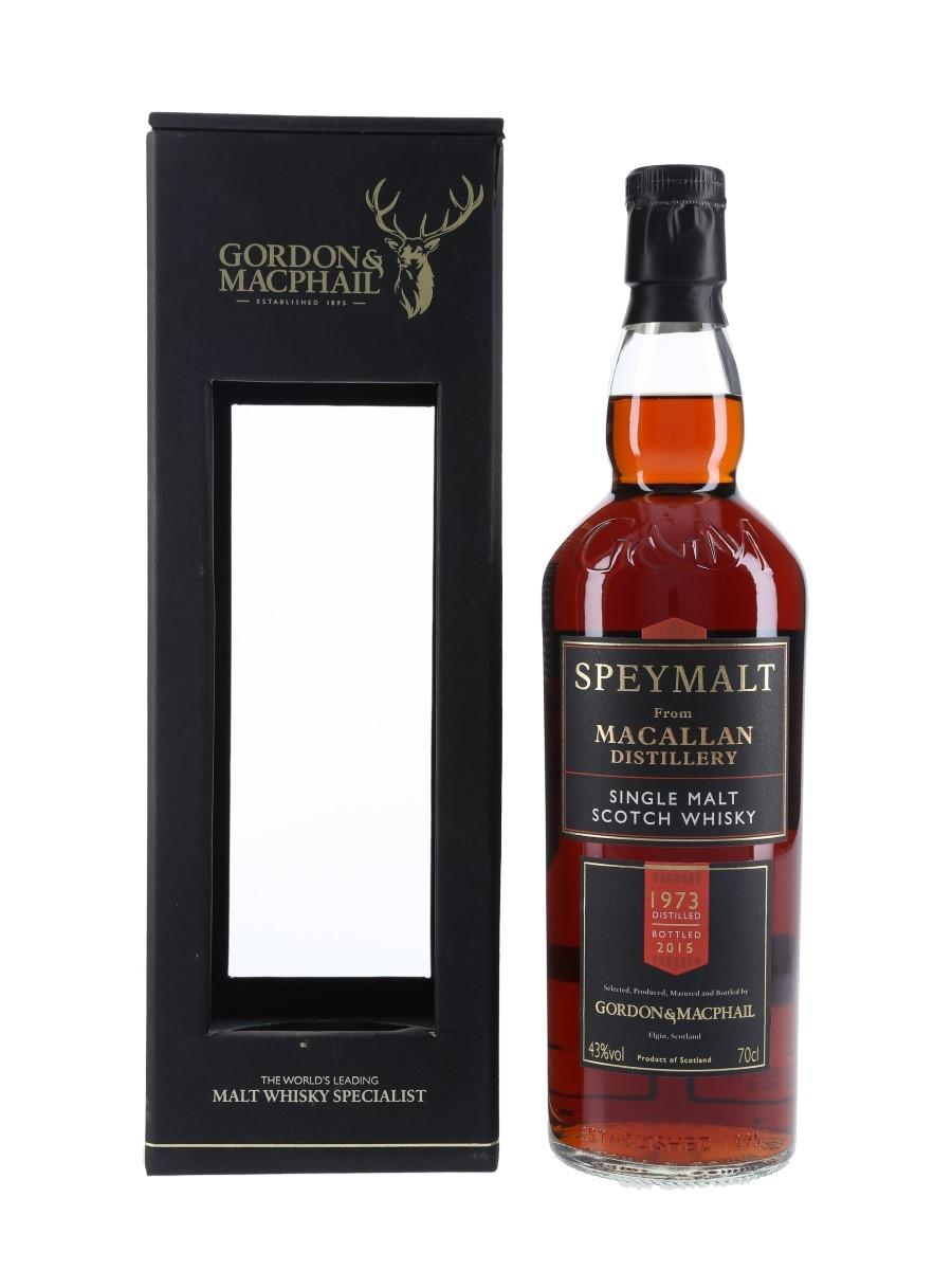 Macallan 1973 Speymalt Bottled 2015 - Gordon & MacPhail 70cl / 43%