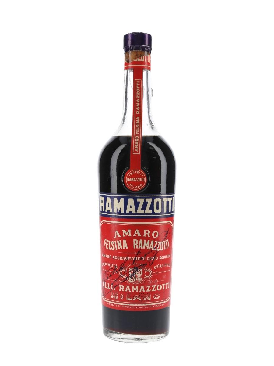 Ramazzotti Amaro Bottled 1950s 100cl / 30%