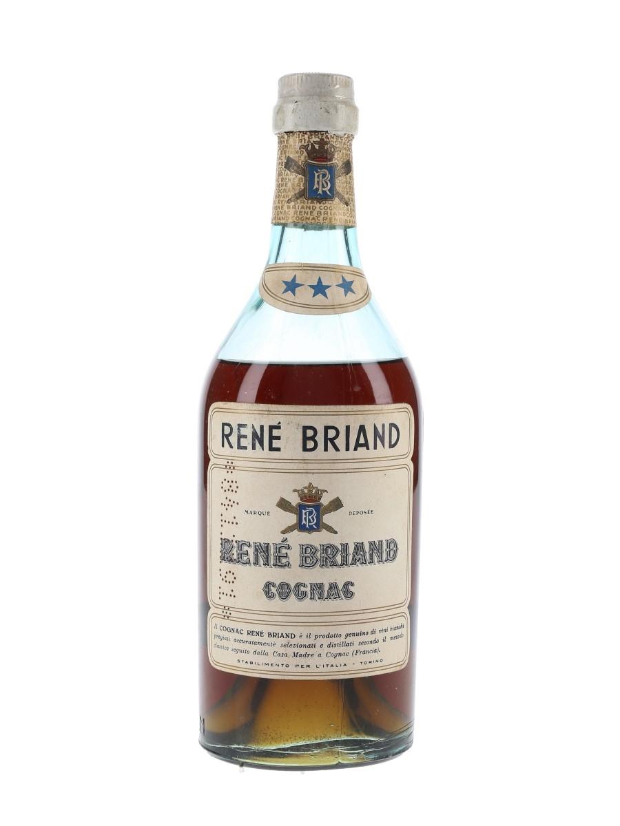Rene Briand 3 Star Bottled 1960s 70cl / 42%