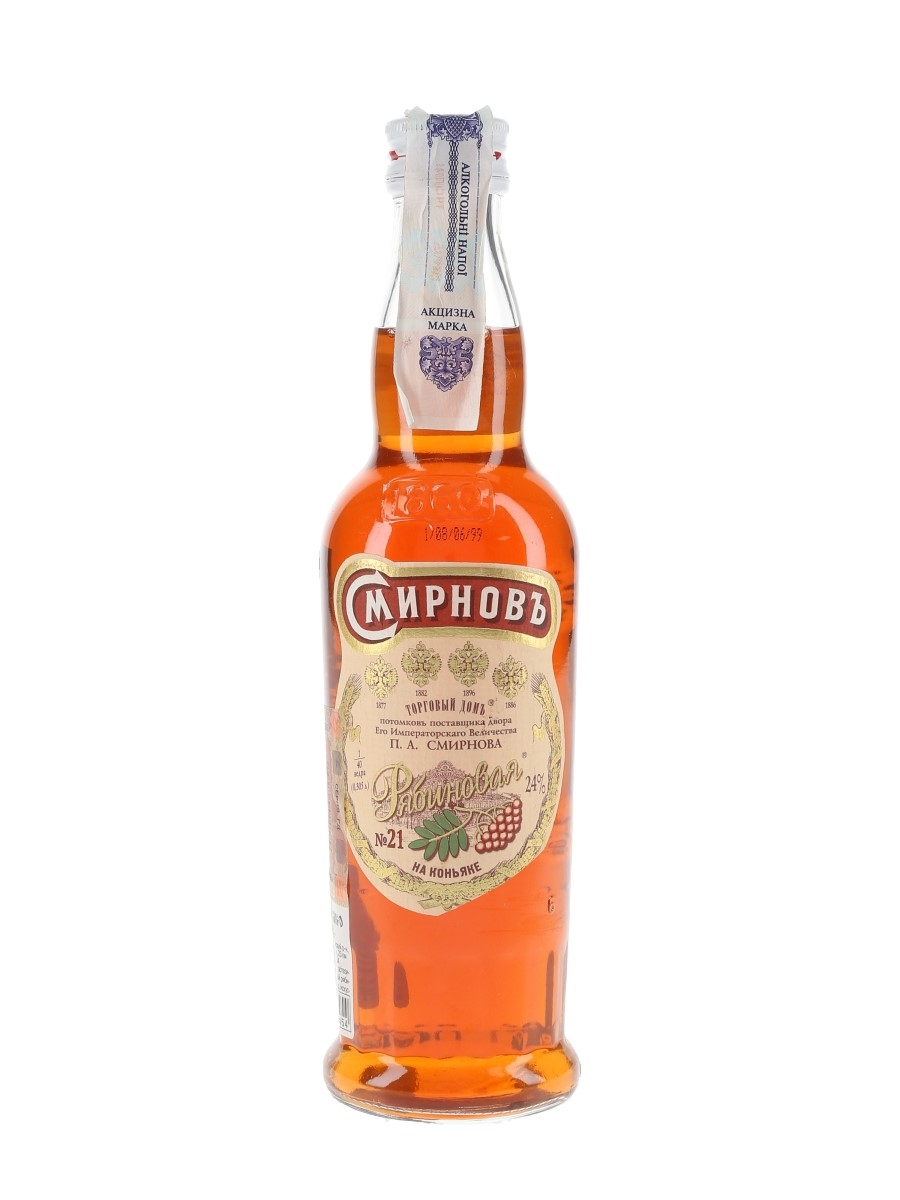 Smirnov Ryabinobaya Brandy  30cl / 24%