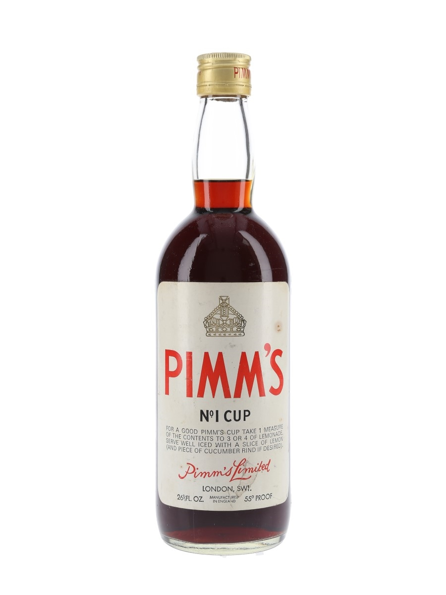 Pimm's No.1 Cup Bottled 1970s 75.7cl / 31.4%