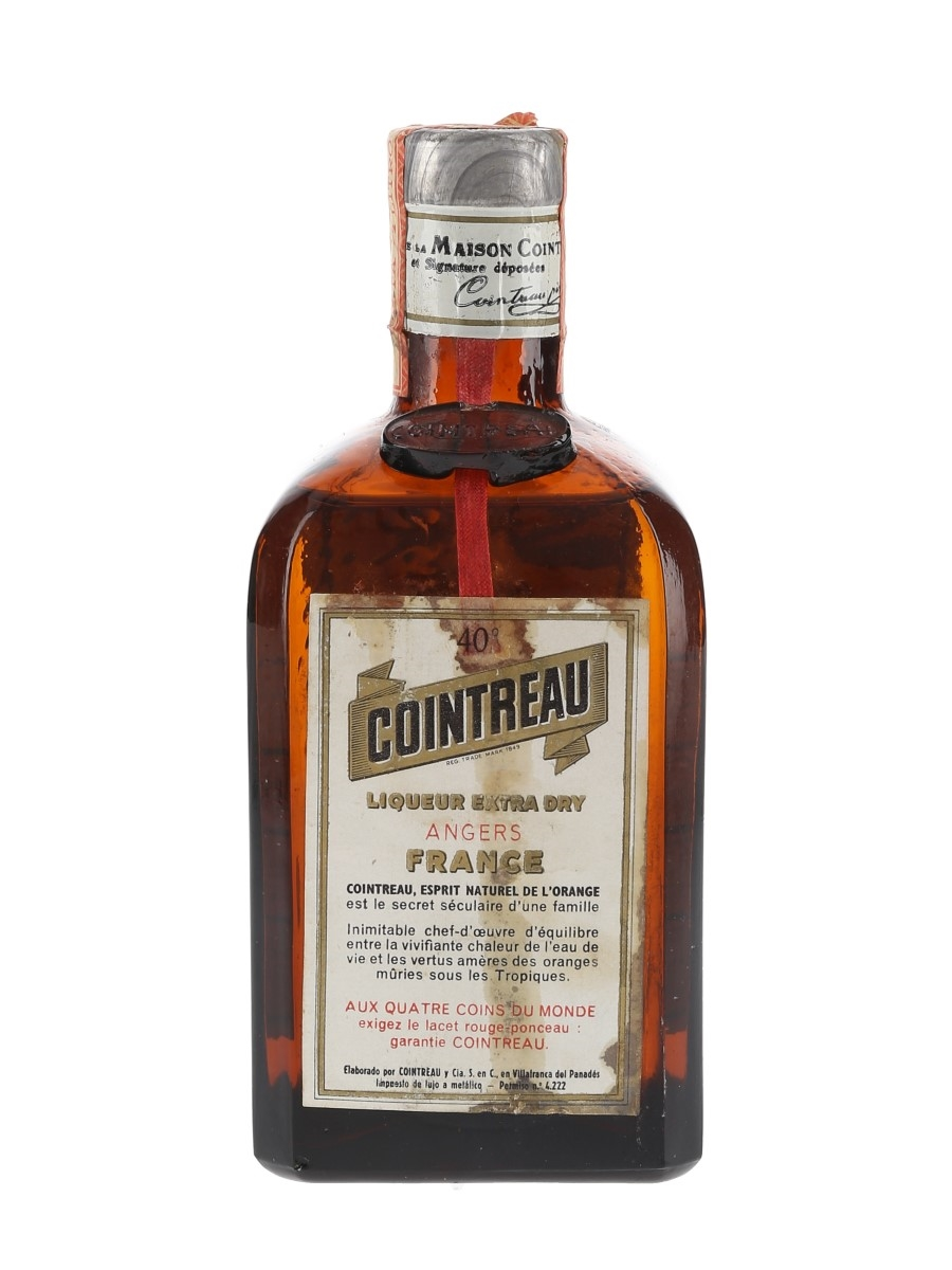 Cointreau Bottled 1950s-1960s - Spain 50cl / 40%