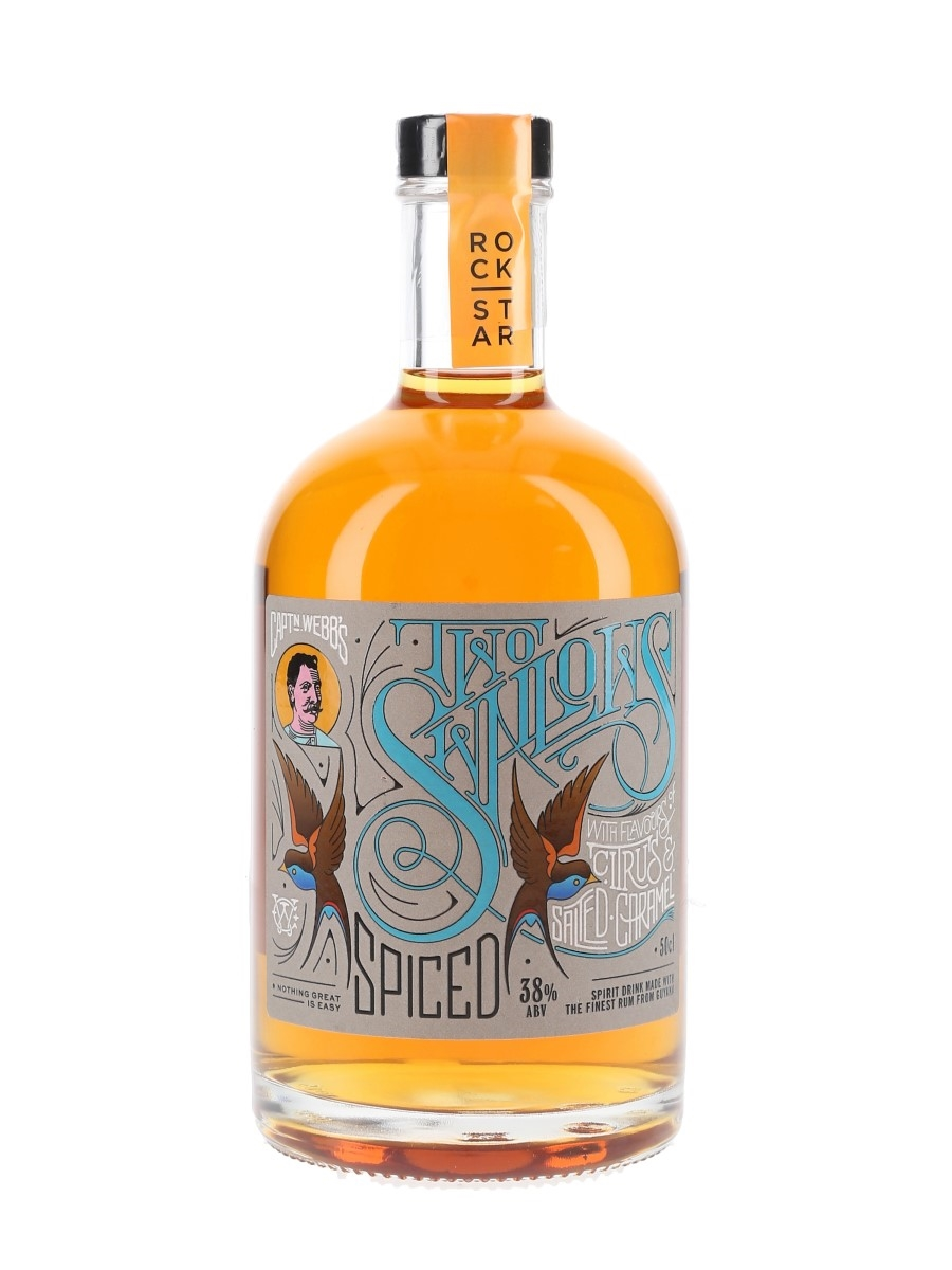 Rockstar Two Swallows Spiced Rum  50cl / 38%